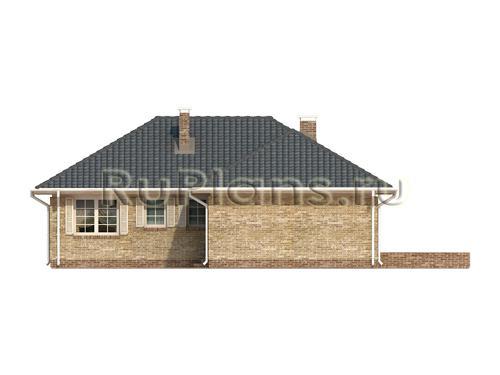 Дома 13 х 13 м проект дома с гаражом