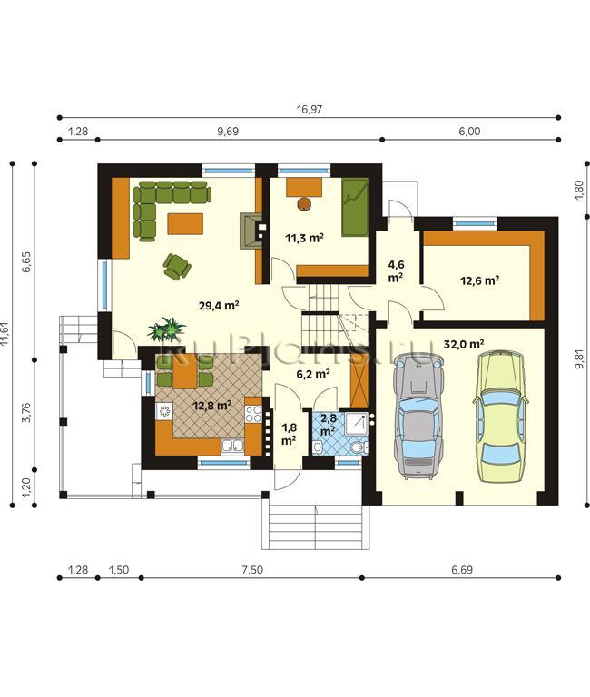 цены план одноэтажного дома 150 кв м с цоколем нефритовые яйца