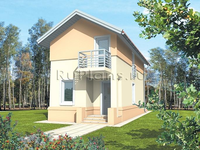 проекты частных узких домов