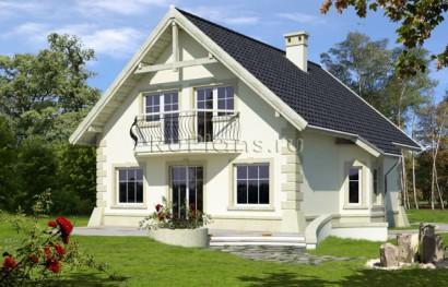 Как сделать двухскатную крышу дома фото 791