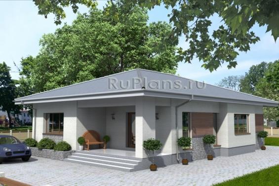 Просторный одноэтажный дом Rg3854