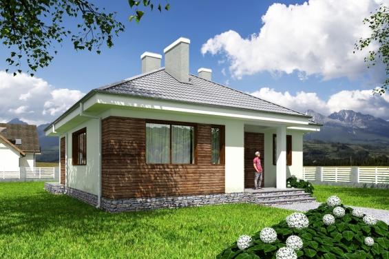 Проект уютного одноэтажного дома Rg3892