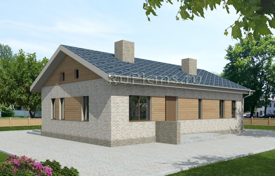 заказать Проект одноэтажного дома Rg3926