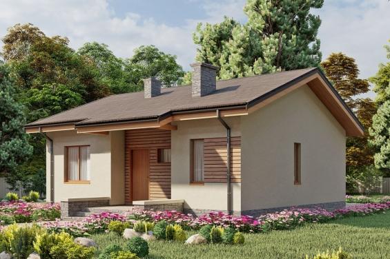 фото проекты одноэтажных частных домов
