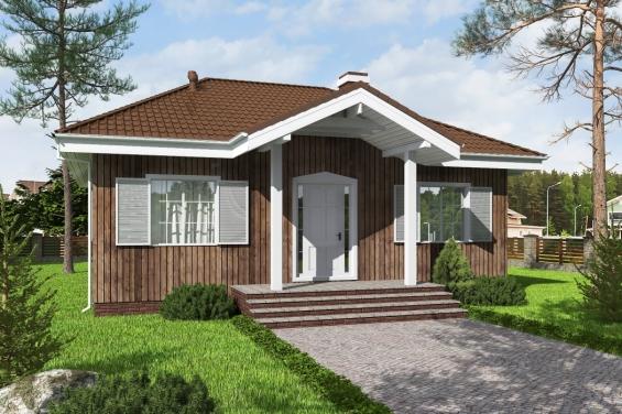 Проект квадратного дома 10 на 10 из газоблоков М142 | Дом, Проекты ... | 376x565