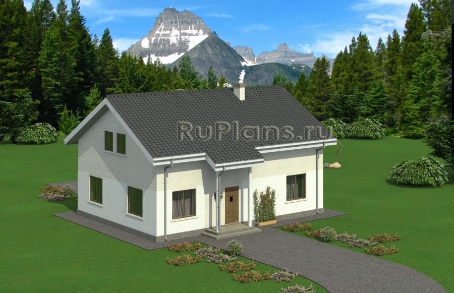 заказать Уютный загородный дом Rg4916