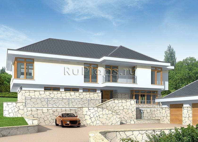 проекты одноэтажных домов картинки