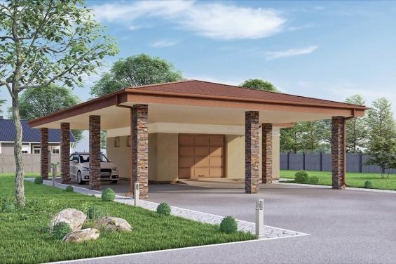 Готовые проекты гаража скачать купить гараж на щербинке вымпел