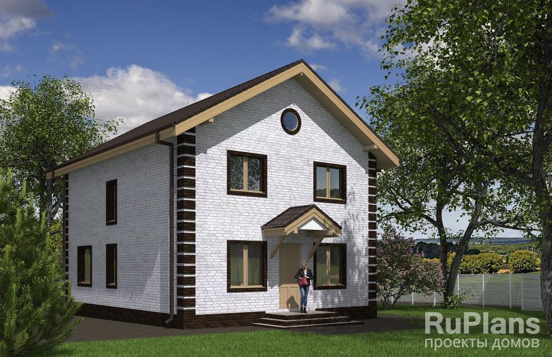 Дом из керамзитобетонных блоков проекты простые