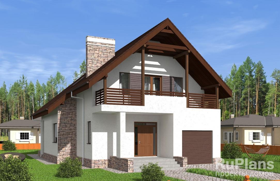 Проекты домов из пеноблоков с мансардой в красноярске страни.