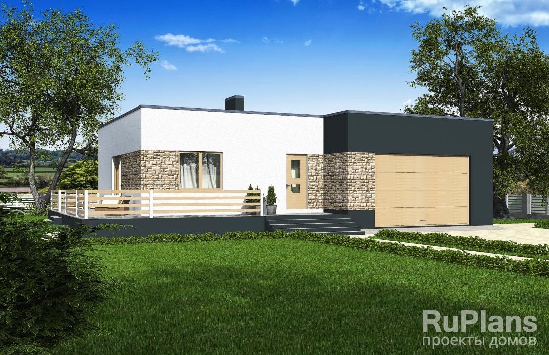 заказать Одноэтажный дом. Rg5352