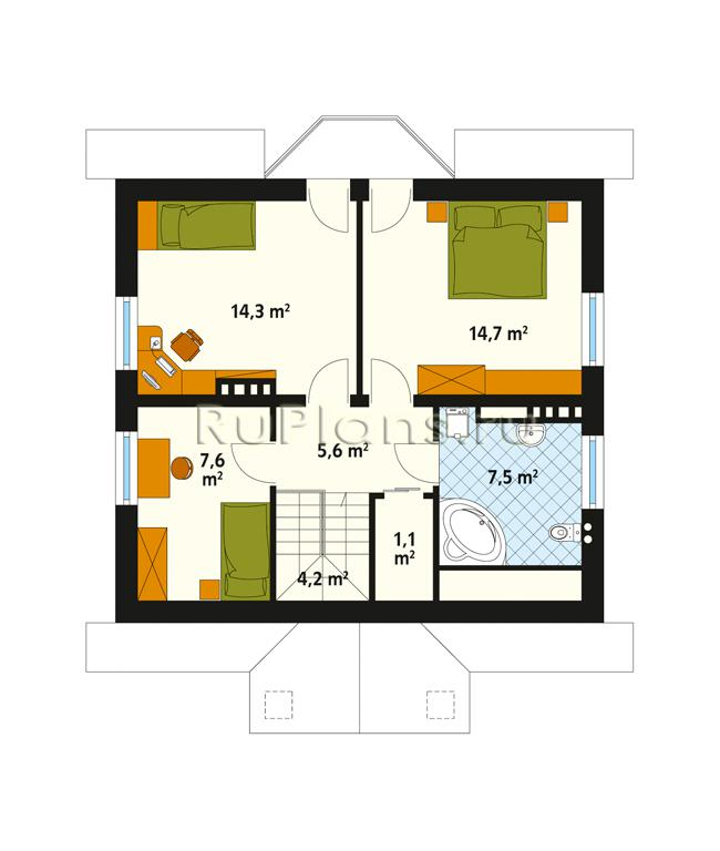 Дом 10х12 одноэтажный