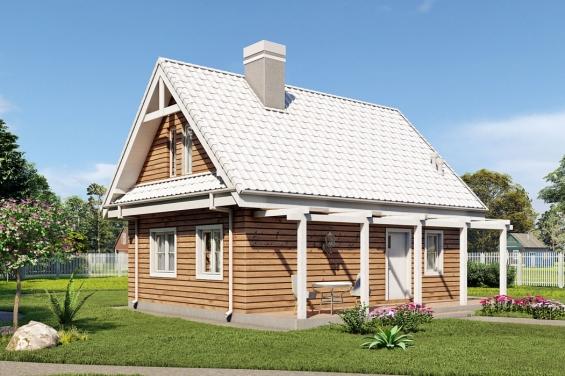 Проекты домов из керамзитобетона с мансардой купить бетон в валуйках с доставкой цена