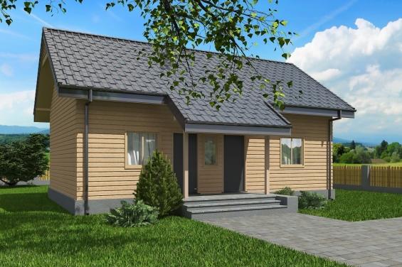 Проекты домов 6 на 10 метров, 6х10 | 376x565