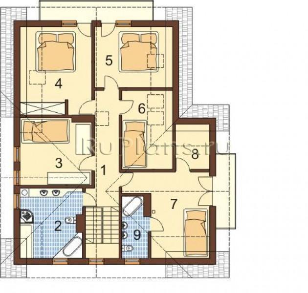 Проект большого дома с