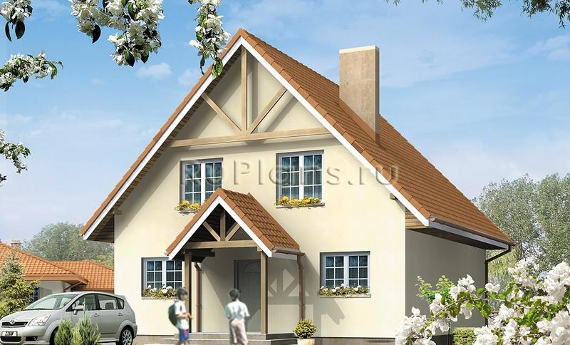 Проект одноэтажного дома с