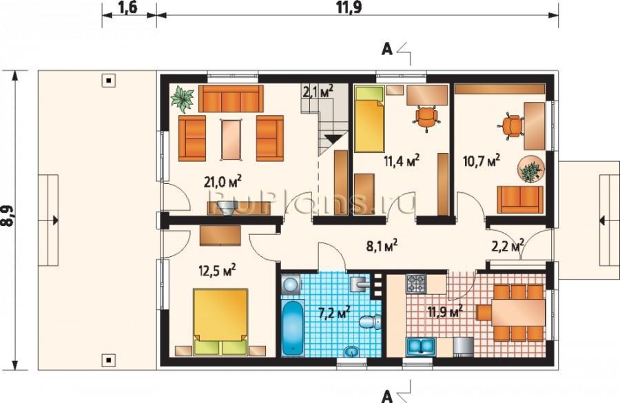 Что лучше одноэтажный дом или коттедж с мансардой 551