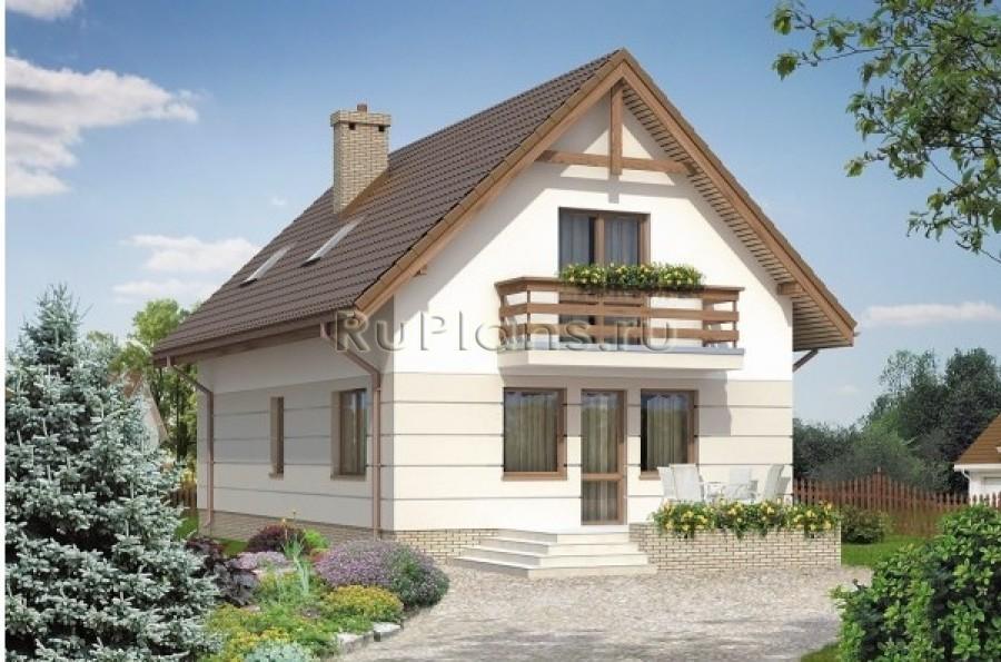 Проект одноэтажного дома с цоколем и ...: https://ruplans.ru/proekti/proekti_57.html