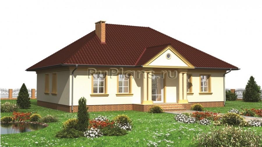 Одноэтажные дома 10 на 12 фото домов 94