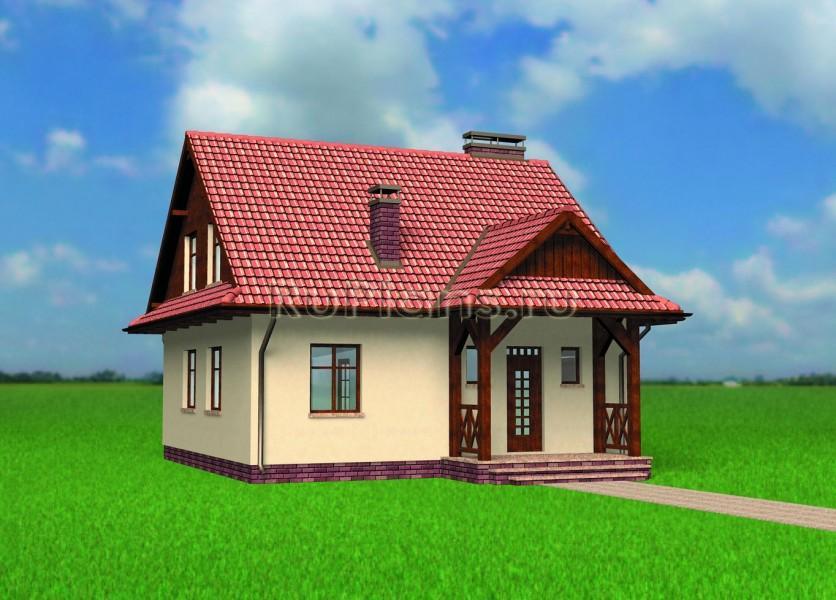 Дизайн фасада одноэтажного дома фото