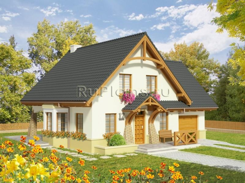 Проект небольшого дачного дома