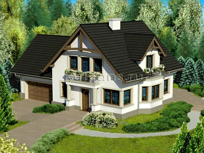 Проект 2х этажные дома в америке