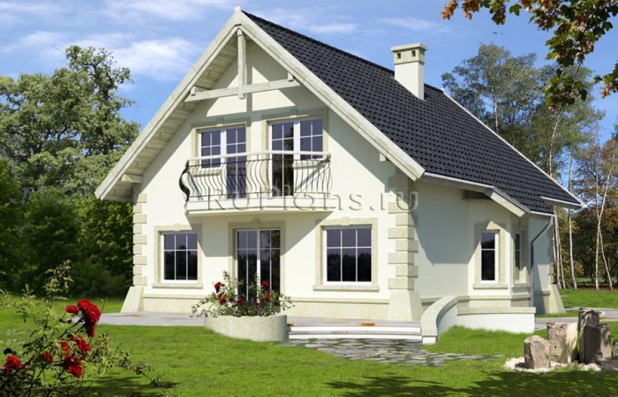 Что лучше одноэтажный дом или коттедж с мансардой 65