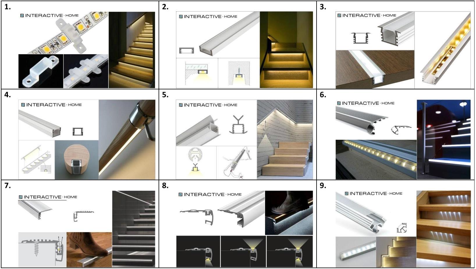 Способы монтажа и крепления светодиодной ленты