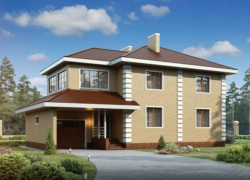 Двухэтажные дома. Проекты домов в два этажа