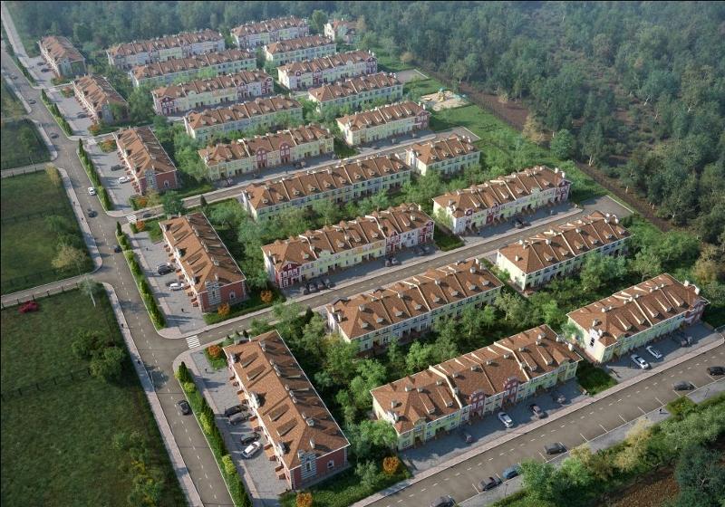 Коттеджные поселки Астраханской области
