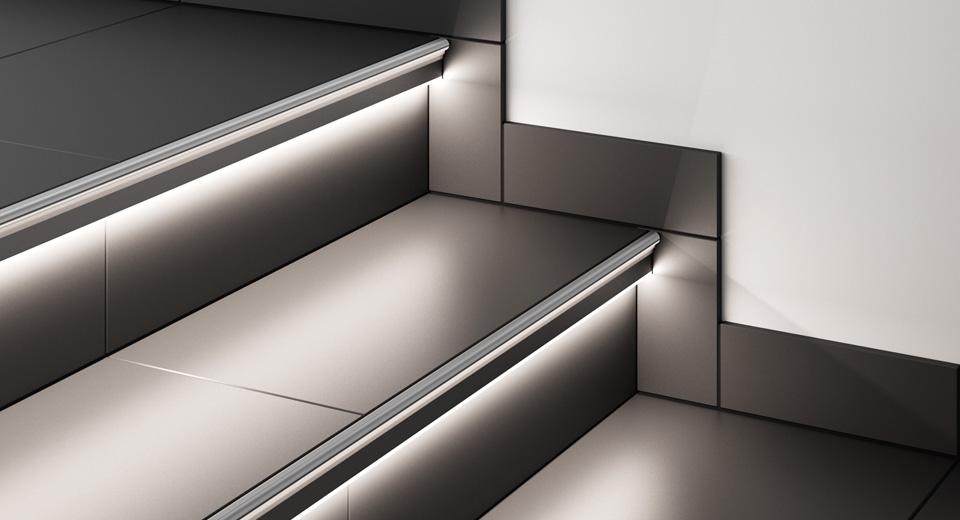 Динамическая подсветка лестницы