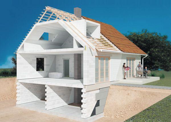 Планировка перекрытий дома